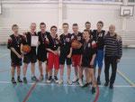 Команда СОШ № 37 - победитель турнира