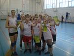 Команда СОШ № 10 Серебряный призер турнира