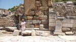 Ephesus mit dem Kameramann