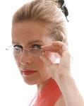 Vera Mickenbecker mit Brille