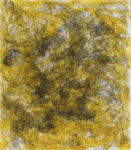 Patterns in yellow 2, ink on cardboard, 25 x 21,7 cm, 2007