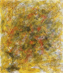 Patterns in yellow 3, ink on cardboard, 25 x 21,5 cm, 2007