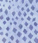 Crystals in blue 1, ink on cardboard, 24,9 x 21,8 cm, 2007