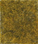 Patterns in yellow 1, ink on cardboard, 25,1 x 21,5 cm, 2007