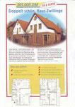 Doppelhaus Jakob u. Suttrup - Fachzeitschrift Junge Häuser 12-1999