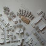Pfarrheim, Olfen - Wettbewerbsplanung Modell