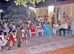 Cultural hour on the last evening-dancing and singing