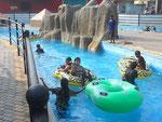 Spass im Wellenbad