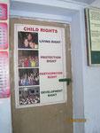 Besichtigung des Heims-Die Rechte der Kinder