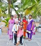 Fünf unserer sechs Patenkinder