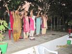 Kulturstunde-Singen und Tanzen