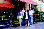 1999: in München mit Mutter, Vater und Freund