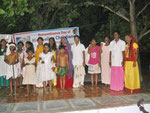 All girls who participated in the cultural hour