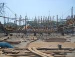 Fischerhafen in Machilipatnam