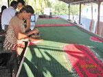 Batik fabric printing