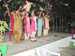 Cultural hour-singing and dancing