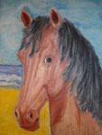 Cheval(Acrylique 30x40)
