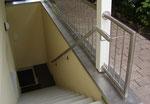 Geländer und Handlauf aus Edelstahl