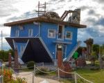 Haus umgefallen ..