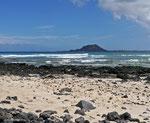 An der Nordspitze von Fuerteventura liegt ...