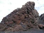 vor Millionen von Jahren erkaltete Lava