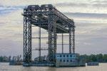 ... einer ehemals ca. 360 m langen Eisenbahnbrücke zwischen dem pommerschen Festland und Usedom