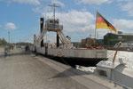 Das älteste Eisenbahndampffährschiff der Welt