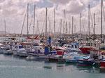 Im Hafen von Corralejo