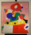 """""""Feuerblumenilse"""", Farblithografie, 1969, 76 x 66 cm, 95,-€"""