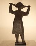 """""""Mädchen mit Zöpfen"""" 1962, Höhe: 23cm, Bronze, 750,-€"""