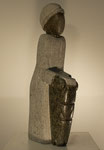"""""""Trommler"""", Maße: 31x13cm, Gewicht: 3kg, Serpentinstein, 145,-€"""