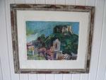 """Teneriffa"", Acryl, Leinwand, signiert, Blattformat 36 x 48 cm, Modellrahmen 65x75 cm, Preis auf Anfrage"
