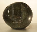 """""""Ball Head"""", Maße: ø 11cm, Gewicht: 1,7kg, Serpentinstein, 65,-€"""