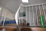 Aufgang Maisonette-Wohnung zur oberen Etage