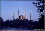 La mosquée bleu.Une des splendeur de la Turquie.
