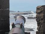 Blick von der Festung aufs Meer