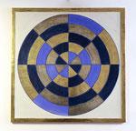 6.1 Farbige Scheibe, 60 x 60, 2012