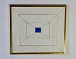 1.1 Blaues Rechteck, 40 x 46, 1995