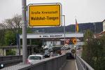 Einfahrt nach Deutschland