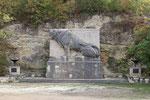 Löwendenkmal, Saaleck