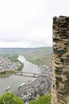 Burg Landshut, Blick auf die Mosel