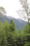 Mittenwald, auf dem Weg zur Leutaschklamm