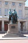 Goethe und Schiller Denkmal, Weimar