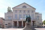 Deutsches Nationaltheater und Staatskapelle, Goethe und Schiller Denkmal, Weimar