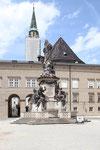 Mariensäule am Domplatz, Salzburg