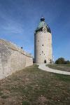 Schloss Neuenburg, Bergfried Dicker Wilhelm, Freyberg