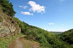 Auf dem Weg zur Burg Pyrmonth