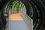 Slinky Springs of Fame, Brücke über den Rhein-Herne-Kanal, Oberhausen