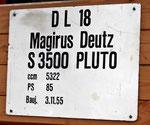 Magirus Deutz S 3500 Pluto, Bj.  1955