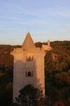 Rudelsburg, Burg Saaleck